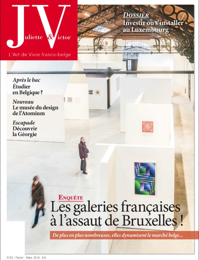 Parution - Le Monteverdi - Juliette & Victor n°53 Février - Mars 2016 - Adine Fichot-Marion - Couverture