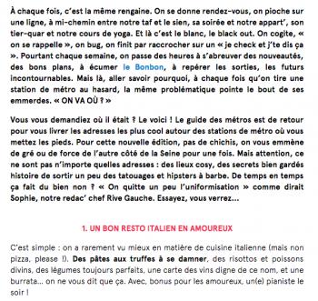 Parution - Le Monteverdi - lebonbon.fr - 27 janvier 2016 - La Rédac' p2